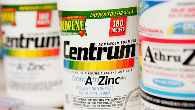 PHOTO: Centrum vitamins