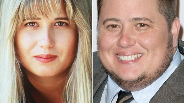 Chaz Bono is shown in this 1993 file photo, left, and again on Nov. 12 ...