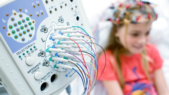 PHOTO: Researchers at Boston Children's Hospital used EEGs, tests that measure electrical activity in the brain, to compare the brains of 430 children with autism and 554 normal children between the ages of 2 and 12.