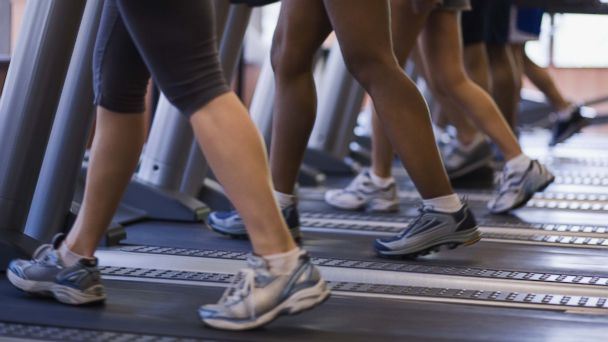 PHOTO: A crowded gym is seen in this undated stock photo.