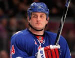 PHOTO:Family of former New York Rangers hockey player Derek Boogaard files wrongful-death lawsuit against NHL.