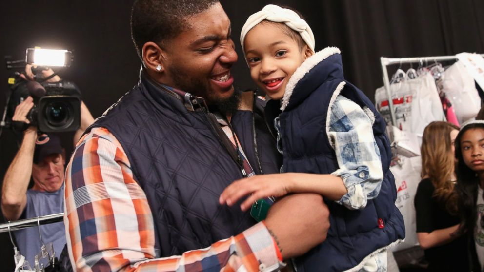 PHOTO: Devon Still announced his daughter remained in good health after a recent scan to check for cancer.