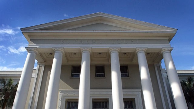 PHOTO: The Florida Supreme Court in Tallahassee is shown in this December 4, 2000 file photo. A 9-year-old child is at the center of a controversial custody battle that is sure to go to the Florida Supreme Court and perhaps on to the highest court in the