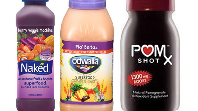 PHOTO: Manufacturers are labeling fruit drinks, as natural energy, to entice the consumers of its healthy benefits.