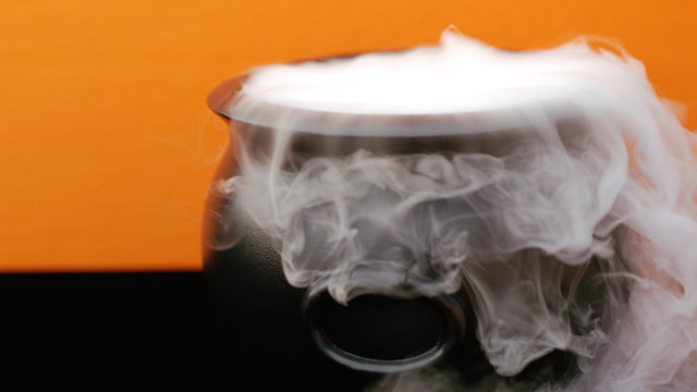 PHOTO: Steaming cauldron