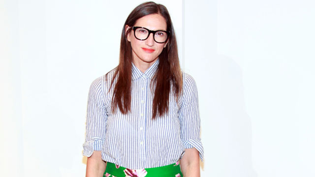 PHOTO: J.Crew President and Creative Director Jenna Lyons attends the J.Crew Spring 2013 Mercedes-Benz Fashion Week Show, Sept. 11, 2012 in New York City.