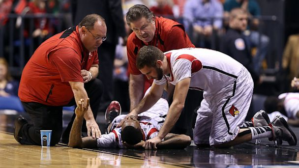 gty kevin ware basketball injury court thg 130918 16x9 608 Louisvilles Kevin Ware Is Dunking Again, 6 Months After Horrific Injury