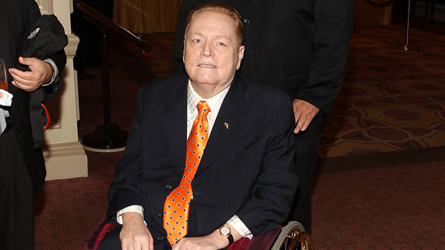 PHOTO: Larry Flynt arrives at the 18th Annual Larry King Cardiac Foundation Gala at Ritz Carlton Hotel on May 19, 2012 in Washi