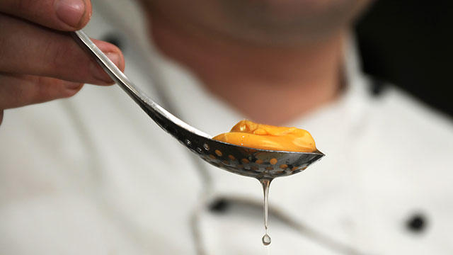 PHOTO: Molecular gastronomy blends science and cooking.