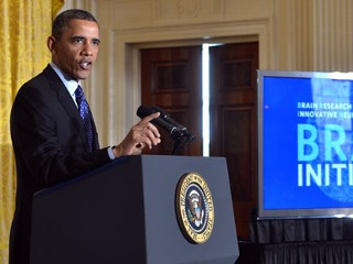 Obama Pitches Brain-Mapping Project