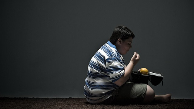 PHOTO: Obese child
