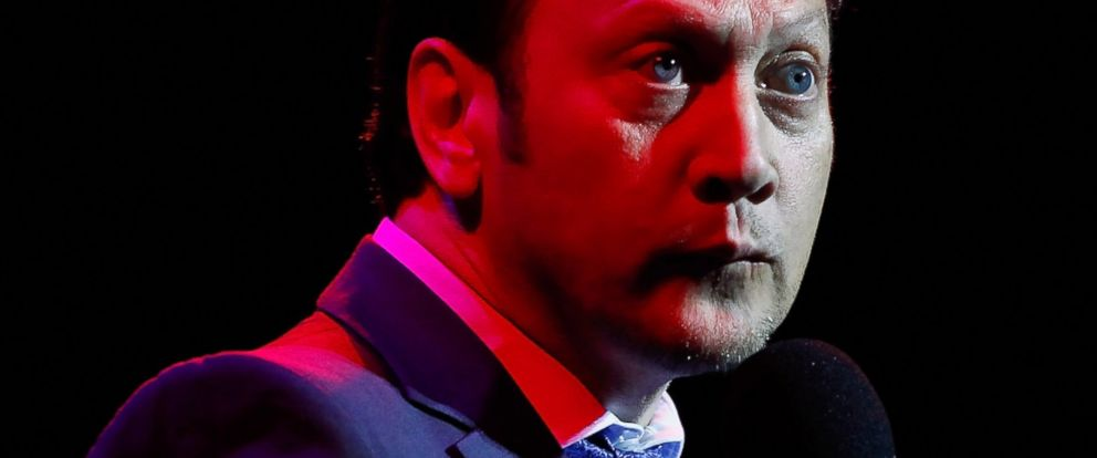 PHOTO: Comedian Rob Schneider performs live on stage at the Sydney Opera House on October 19, 2013 in Sydney, Australia.