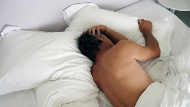 PHOTO: New study found that breathing problems while sleeping are linked to depression.
