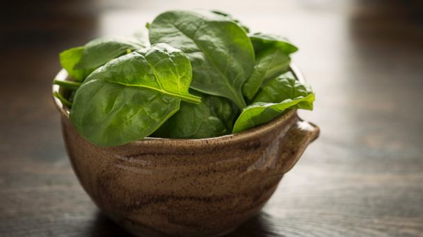 PHOTO: Spinach is seen in this undated stock photo.