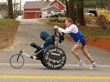 Team Hoyt to Run Last Boston Marathon