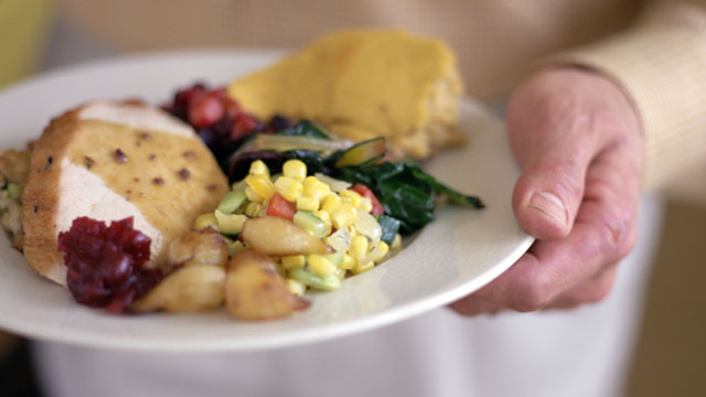 PHOTO: Thanksgiving trimmings are a delicious once-a-year indulgence, the Calorie Control Council estimates that the typical holiday meal may potentially pack 4,500 calories and 229 grams of fat.