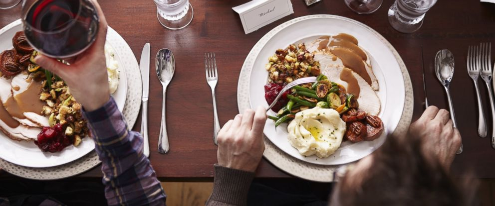 You may be consuming more calories than you realize during Thanksgiving.