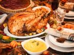 PHOTO: A Thanksgiving turkey dinner is seen in this undated stock photo.