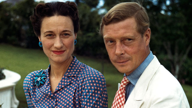 PHOTO: Wallis, Duchess of Windsor (1896-1986) and the Duke of Windsor (1894-1972) outside Goverment House in Nassau, the Bahamas in this 1942 file photo.