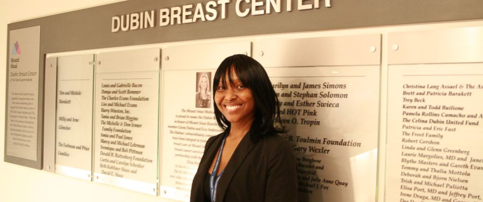 PHOTO: Cristal Miller was diagnosed with breast cancer at 27 years old.