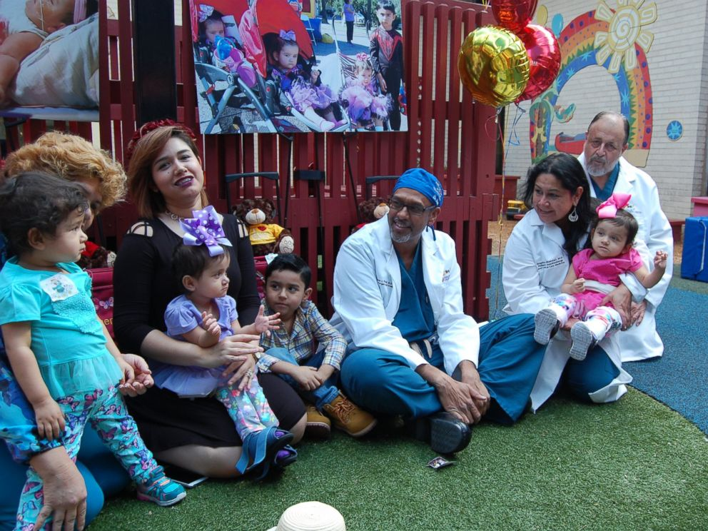PHOTO: The sisters are finally preparing to go home after spending their lives close to the Driscoll Childrens Hospital.