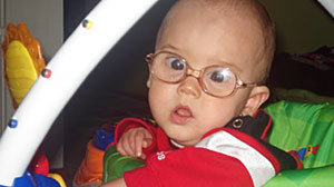 Photo: Baby with Cataracts