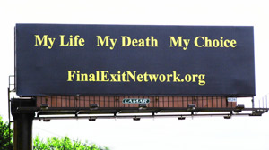Speeding Death: Billboards, Books Advocate Death on Your Terms