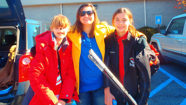 PHOTO: Cassidy Hooper, 16, (left) with her sisters Ashton, 18, and Lexi, 12.