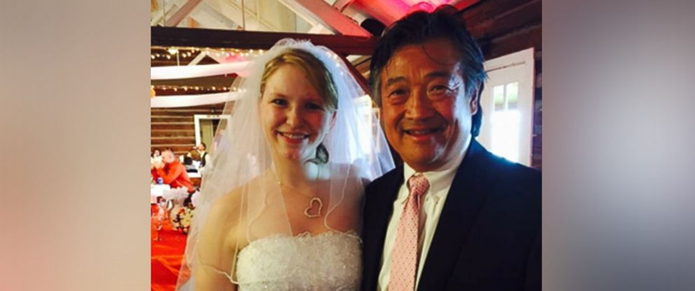 PHOTO: Chrsitine Tabar invited her transplant surgeon Dr. John Fung to her wedding 10 years after her life-saving operation.