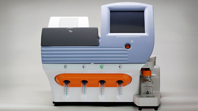 PHOTO: Ion Torrent's Personal Genome Machine contains 1.5 million sensors, each of which can hold a single strand DNA fragment.