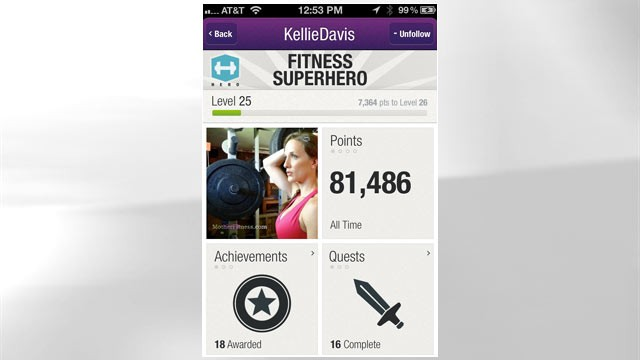PHOTO: Sites like Fitocracy use social engagement to help people get fit.
