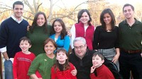 PHOTO Jenn Giroux of Cincinatti, Ohio, was one of 11 children and now has 9 of her own, shown here.