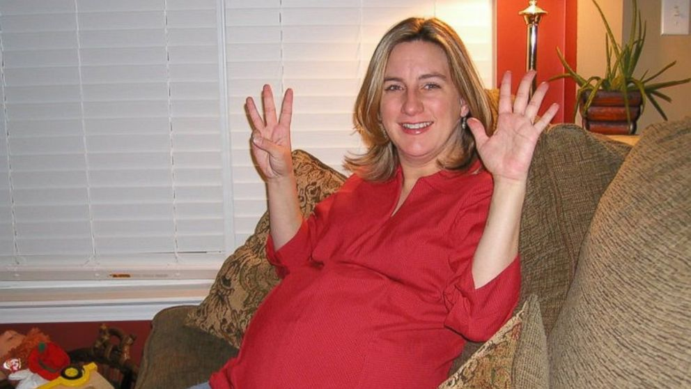 PHOTO: Hope Lienau was eight months pregnant in this photo. Three days later, she delivered a stillborn boy she named Collin.