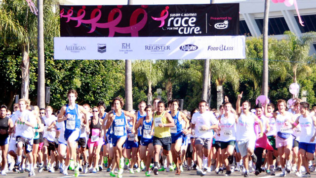 PHOTO: Runners at the starting line of the K