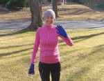 PHOTO: ABC Tweet Chatter, Sarah Wassner Flynn keeps her heart healthy by running -- just 3 weeks after having a baby.