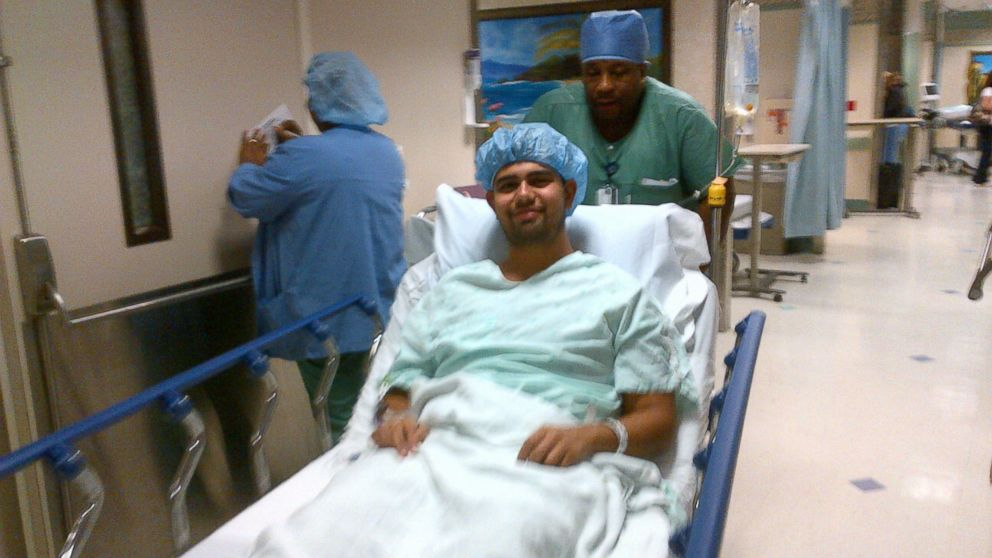 PHOTO: Abdul Moussadda was so disabled from arthritis by 22, he had double hip replacement surgery.