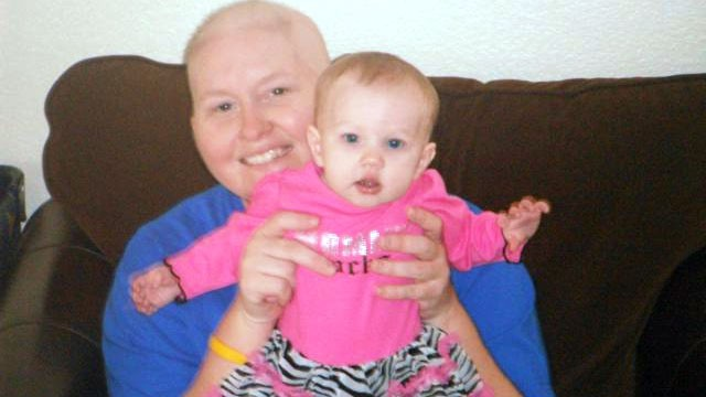 PHOTO: riana Cox died of malignant melanoma at 33 and now her daughter Addison has the same disease, passed through the placenta.
