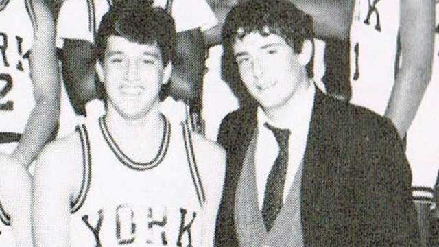 PHOTO: Alan Brown and his friend Danny in high school before they were both paralyzed after accidents.