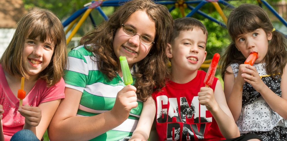 PHOTO: Three of the four Allred children were born with a rare muscle disorder.