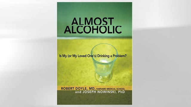 PHOTO: Problem drinking is a symptom of &quot;almost&quot; alcoholism, according to a new book.