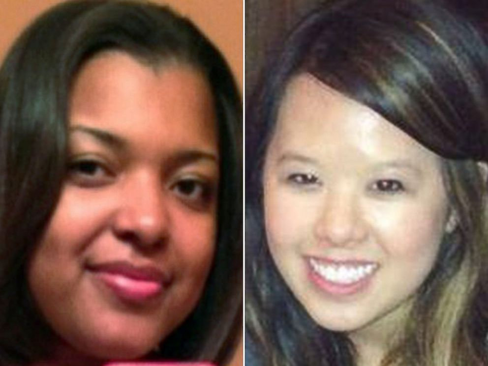 PHOTO: Amber Joy Vinson, and Nina Pham are seen in undated handout photos. Both women are Texas nurses that have tested positive for Ebola.