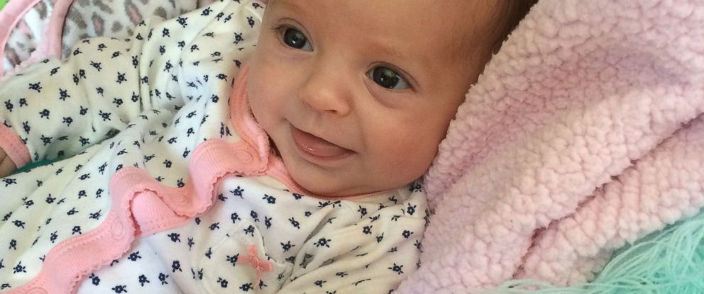 PHOTO: Juliana Salvi has a rare metabolic disorder that could be fatal. Newborn screening caught the diagnosis, but a snowstorm nearly delayed the vital results.