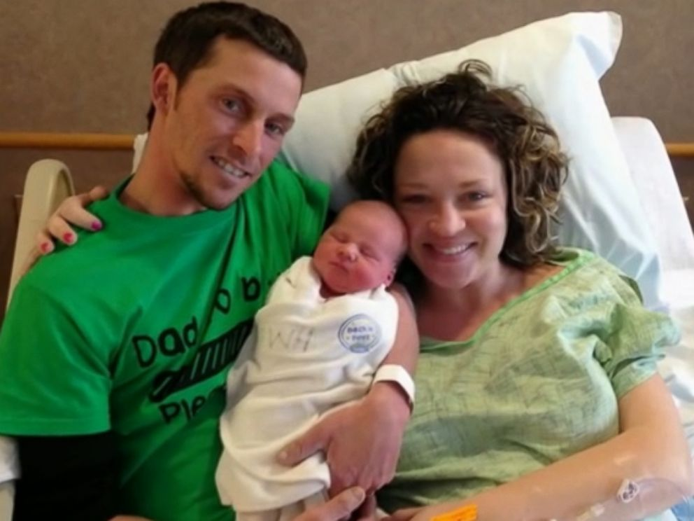 PHOTO: Danielle and Kyle Williams were told they were having a girl. Their son Bentley Williams was born on March 2, 2015.