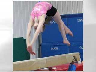Young Gymnasts Jump High, Fall Hard