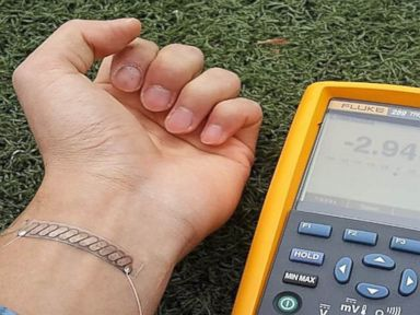 Bracelet Turns Body Heat Into Electricity