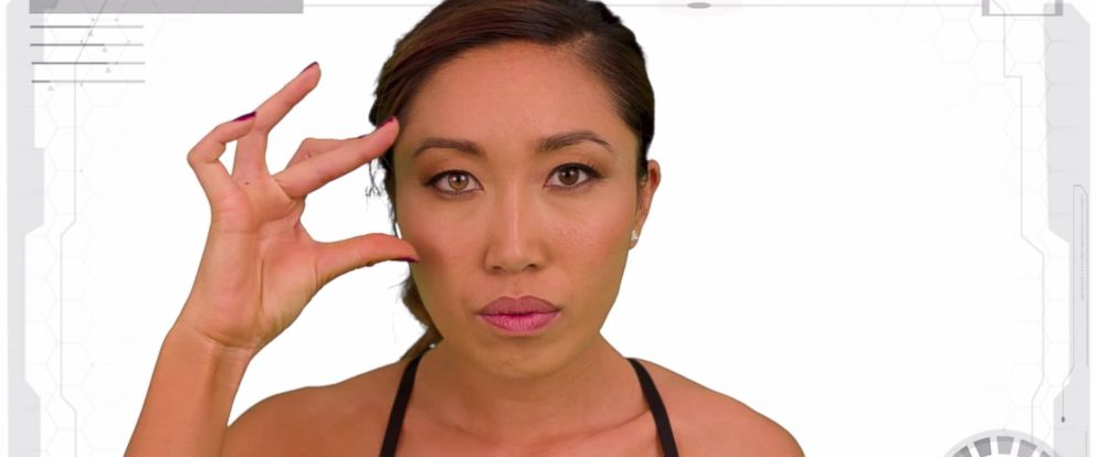 """PHOTO: Cassey Ho made a """"Peferct Body"""" video to show how online comments affected her."""