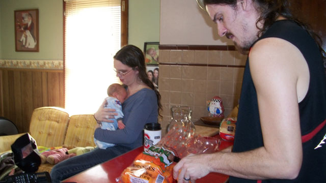 Wife Feeding Breast Milk To Husband Photo 54