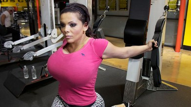 PHOTO: My Strange Addiction profiles a woman who has spent hundreds of thousands of dollars on breast augmentation.