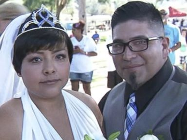 Bride With Stage 4 Cancer Weds at Charity Event