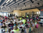 PHOTO: At Buckingham County Primary & Elementary Schools in Virginia, they built the school and the cafeteria to try to promote healthy eating.